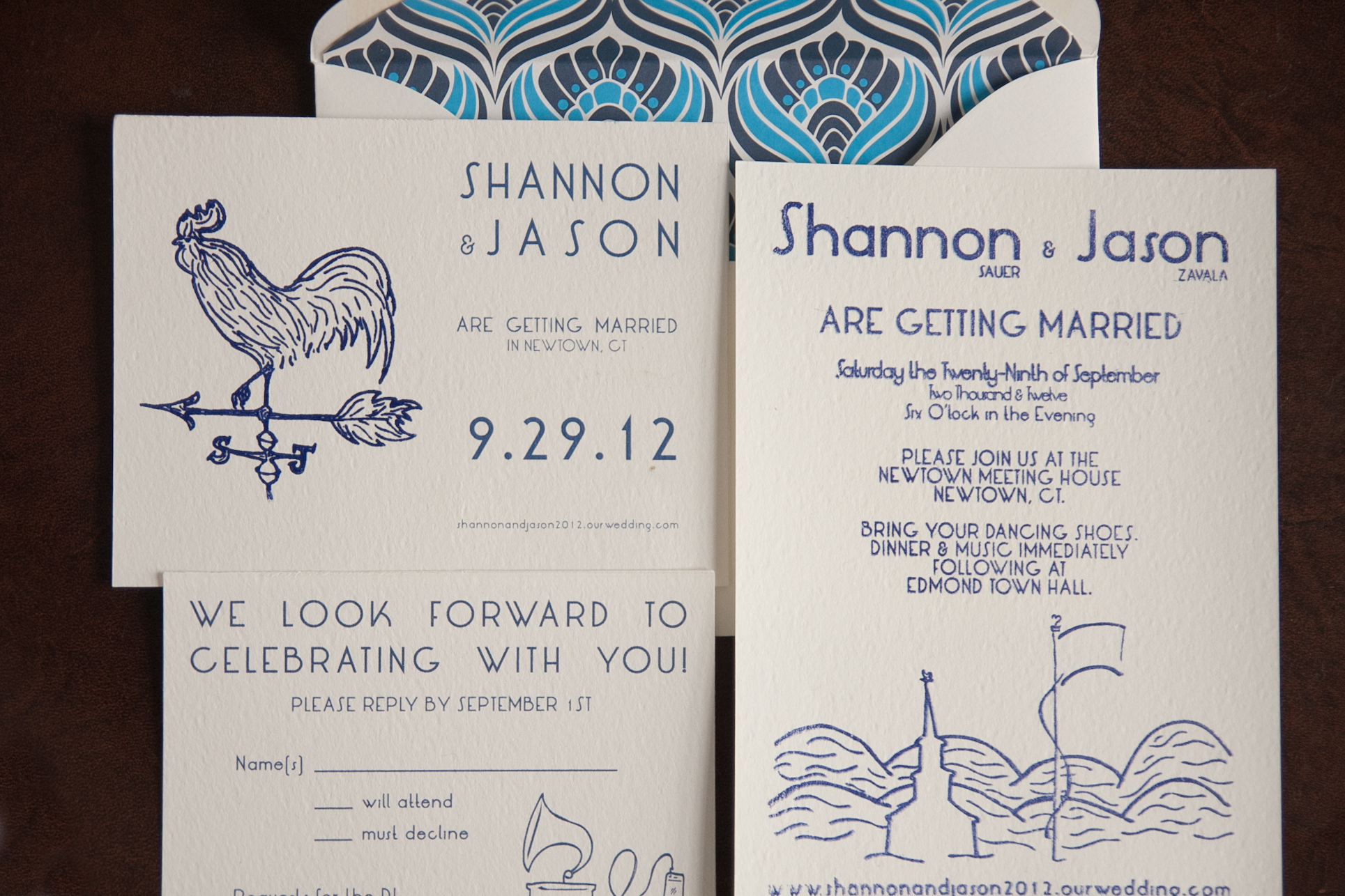 Our handmade wedding stationery city mouse shannon justin newtown ct 21 solutioingenieria Choice Image